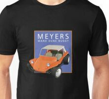 Dune Buggy Manx Orange Blue Box Unisex T-Shirt