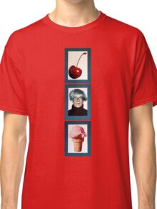 Warhol with a Cherry on Top Classic T-Shirt