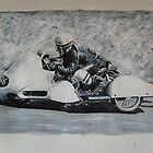 sidecar racers by suelong