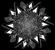 Exagonal Star [B/W] by Axseru