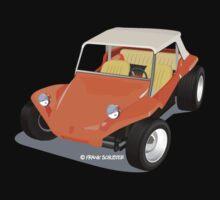 Dune Buggy Orange Manx by Frank Schuster