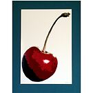 Cherry- Warhol by Samitha Hess Edwards