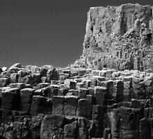Cliffs, Isle of Staffa, Scotland by Michael Marten