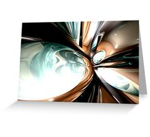 Divine Flavor Abstract Greeting Card