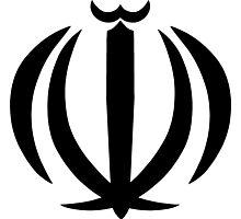 Emblem of Iran Photographic Print