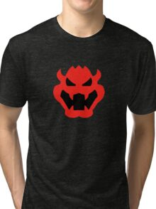 Super Mario Bowser Icon Tri-blend T-Shirt