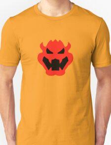 Super Mario Bowser Icon Unisex T-Shirt
