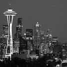 Seattle skyline by Bob Hortman