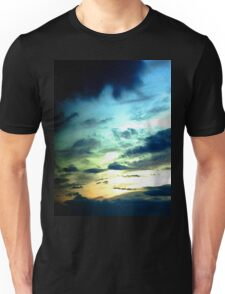 Green Sunset Unisex T-Shirt