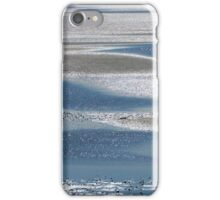 Low tide puddles iPhone Case/Skin