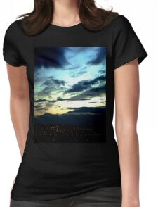 November Sunset Womens Fitted T-Shirt