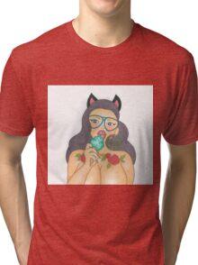 """I'm Hot""  Tri-blend T-Shirt"