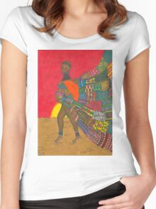 Masai - Mother & Child Women's Fitted Scoop T-Shirt
