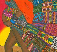 Masai - Mother & Child Sticker