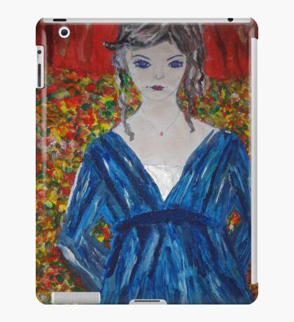 A Lady in Blue iPad Case/Skin