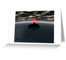polar sea Greeting Card