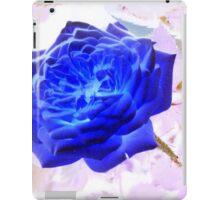 Electric Blue Rose iPad Case/Skin