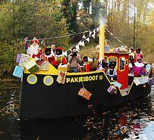 The boat of Sinterklaas by jchanders