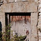 Barn doorway Malham by Margaret Brown