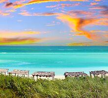 Postcard from Varadero Beach, Cuba by Atanas Bozhikov Nasko