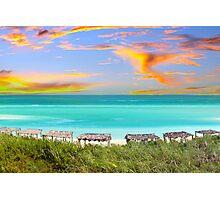 Postcard from Varadero Beach, Cuba Photographic Print