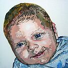 Max portrait by artist Debbie Boyle - db artstudio by Deborah Boyle