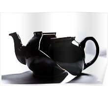 Broken Tea Pot Poster