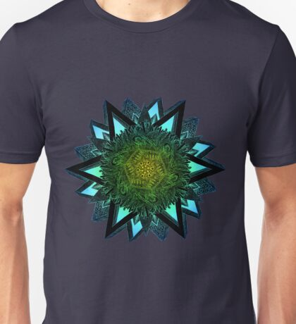 Exagonal Star Unisex T-Shirt