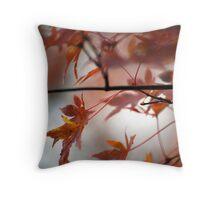 Fall Focal Point - Bronze Throw Pillow