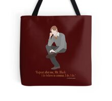 Remus Believes in Commas Tote Bag