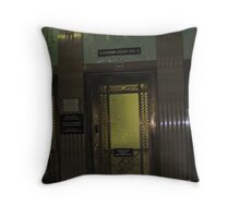 Old Courthouse in Bisbee, Arizona Throw Pillow
