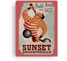 Build Mass With Sass Canvas Print