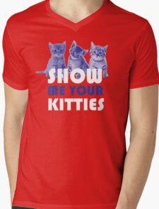 Show Me Your Kitties! Mens V-Neck T-Shirt