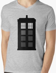 TARDIS Mens V-Neck T-Shirt