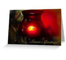 Memories in the Flame Greeting Card