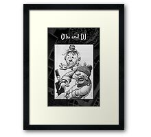 Another  doodle from my Book! Framed Print