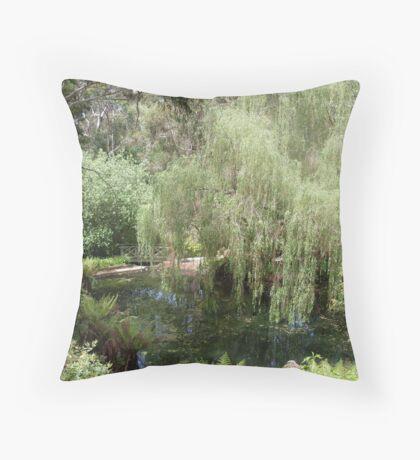 Macedon in Spring Throw Pillow