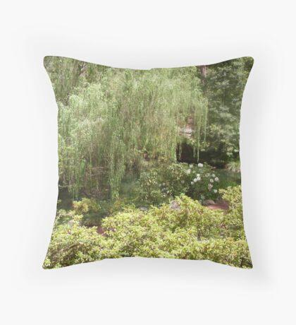 Spring in Macedon Throw Pillow