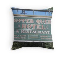 Bisbee Icon Throw Pillow