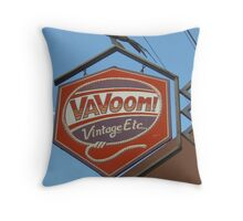 A Vintage Sign Throw Pillow