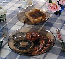 Homestay Breakfast! by Fineli