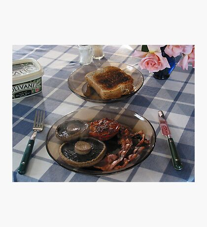 Homestay Breakfast! Photographic Print
