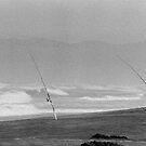 Fisherman On Beach by Beyondwords