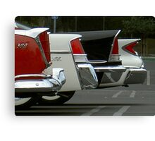 Classic Chryslers Canvas Print