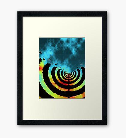 coordinates of fantasy Framed Print