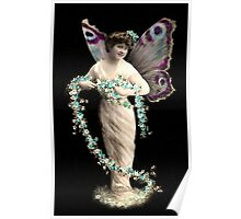 Vintage Fairy Beauty Poster