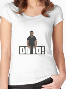 Just Doooo It!! Women's Fitted Scoop T-Shirt