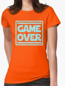 Game Over Womens Fitted T-Shirt