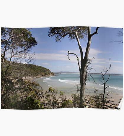 View of Beach of Noosa NP Poster