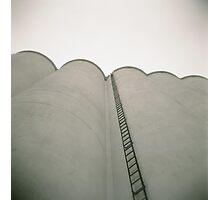 Frisco Grain Elevator Ladder Photographic Print